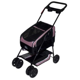 Pet Gear Travel System Stroller II Pink   Strollers   Crates & Carriers