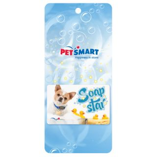 Soap Star Gift Card   Gifts for Dog Lovers   Dog