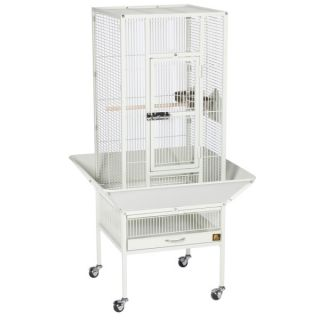 Prevue Pet Products Parkway Wrought Iron Bird Cage    White