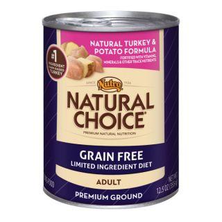 Nutro� Natural Choice� Grain Free Adult Natural Turkey & Potato Formula Dog Food   Dog