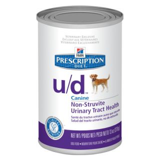 Hill's� Prescription Diet� u/d™ Canine Non Struvite Urinary Tract Health Dog Food   Canned Food   Food