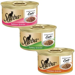 Sheba� Premium Cuts� Tuna Entr�e Cat Food   Sale   Cat