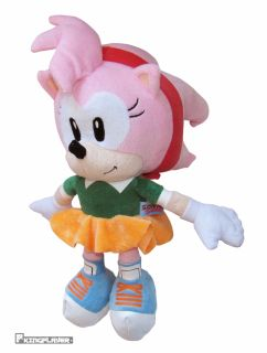 THE HEDGEHOG STOFFTIER PLUSCH FIGUR AMY 32 CM PMS sega tails knuckles