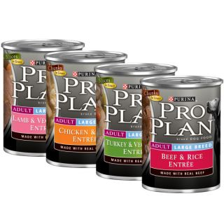 Pro Plan Large Breed Adult Canned Dog Food   Food   Dog