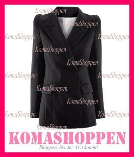 Margiela H&M Blazer Jacke Schwarz black Blogger 34 36 38 XS S M