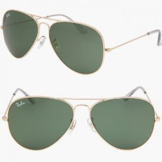 2012 RAY BAN AVIATOR Sonnenbrille/Sunglasses   Geld RB3026 L2846 62mm