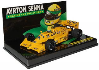 43 Minichamps Lotus 99T Honda Turbo   Ayrton Senna 1987   New