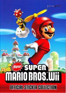 50 Sticker auswählen SUPER MARIO BROS. Wii