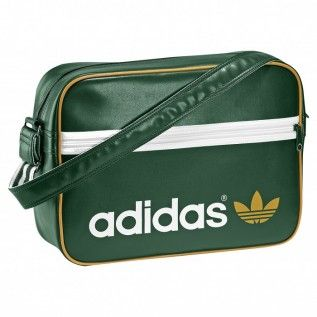 Adidas AC Airline Bag Tasche Umhängetasche Dark Green Grün