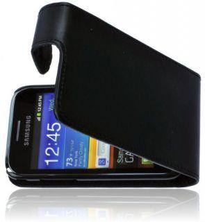 Samsung Galaxy Ace Plus Premium Handytasche Flip Case Schutzhülle PU