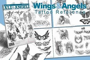Tattoo Vorlagen Buch Engel und Flügel Tattoo Design