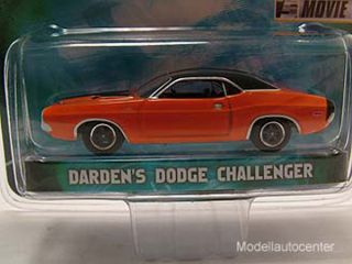 Dodge Challenger 1970 / Fast and Furious, Modellauto 164, Greenlight