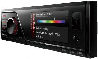 Pioneer MVH 7300 1 DIN MultiMedia Center (ohne Laufwerk, TFT Display