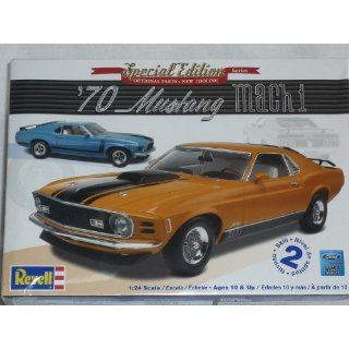 FORD MUSTANG MACH 1 1970 COUPE 85 4203 BAUSATZ KIT 1/24 1/24 REVELL