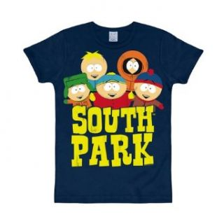 Logoshirt T Shirt SOUTH PARK   FIVE FRIENDS navy