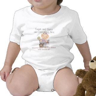 Sugar and Spice and Everything Nice Baby Bodysuit