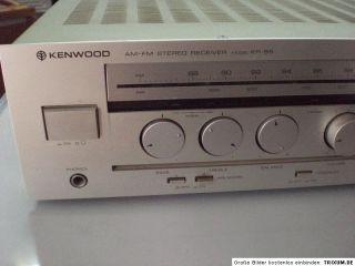 Kenwood AM FM Stereo Receiver KR 55