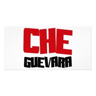 Che Guevara Design Customized Photo Card