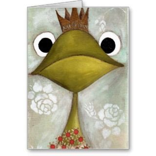 Greeting Cards, Note Cards and Frog Birthday Greeting Card Templates