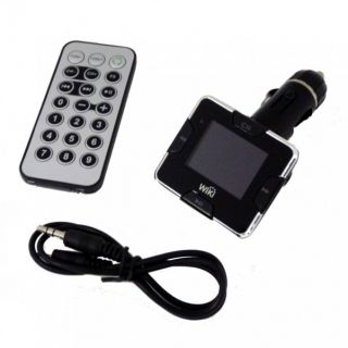 WiKi KFZ FM Transmitter   Auto MP3 Player Audio PKW
