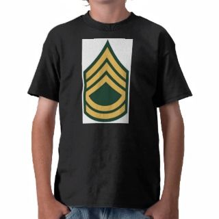 Army Sergeant First Class E 7 SFC Shirts