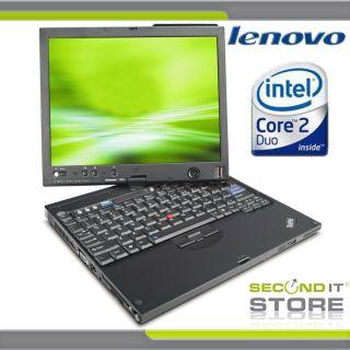 Lenovo ThinkPad X61 Tablet Intel Core 2 Duo 2 x 1 6 GHz 3 GB RAM 160
