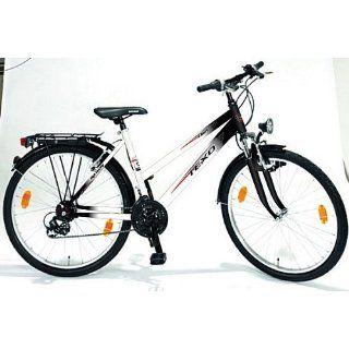 Texo Damen ATB Fahrrad 66 cm (26 Zoll) ATB Damen Trapez 21 Gang