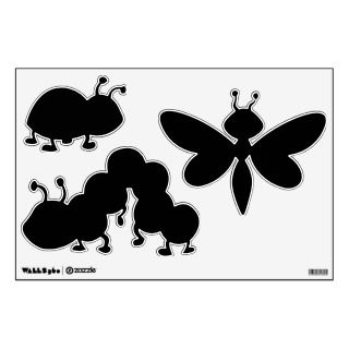 Make Your Own Insects and Bugs Shapes Wall Decals