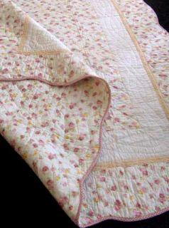 ۞ TAGESDECKE Steppdecke Shabby Country Patchwork Decke