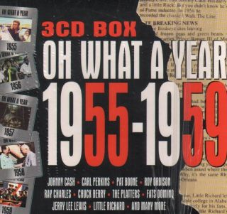 CD BOX:Oh What a Year 55 59 (V/A)[NM] (Biem/Stemra)
