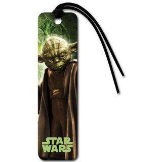 Star Wars Episode I 3D   Yoda von Perlen Lesezeichen