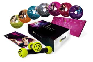 Zumba Fitness® Exhilarate Body Shaping System 7 DVDs Set (Englisch