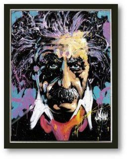 Bild Albert Einstein Andy Warhol pop art Galeriebild Wert 80