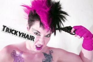 Iro Irokesenhaarteil Haarteil Cyber Punk Karneval #125