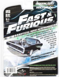 Black BLOWER *Fast & Furious* Greenlight Hollywood164 NEU+OVP