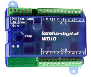 Kuehn 87010 Universeller Schaltdecoder WD10 DCC/Mot