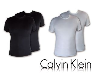 Calvin Klein Herren 2 Pack Cotton Stretch Rundhals Shirts Unterhemden