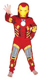 Iron Man Klassisches Jungen Superheld Kostüm Kinder Im Alter Von 3