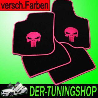 NF Logo Punisher Fussmatten passend für Ford S Max Bj 06  5tlg