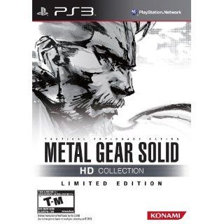 Metal Gear Solid HD Collection Limited Edition PS3 US: