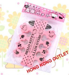 Hello Kitty Toe Finger Separator Nail Art Sanrio A95c