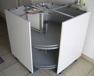 eckschrank ausstattung rondell drehboden drahtboden 72. Black Bedroom Furniture Sets. Home Design Ideas