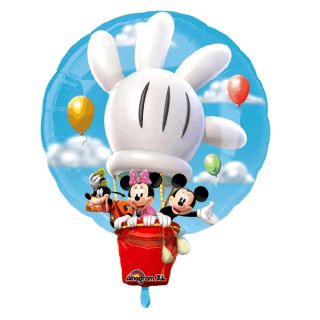 Micky Maus   XL Folien Ballon Mickey Mouse Air 58x71cm