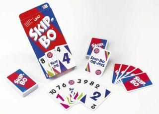 Mattel Spiele   Skip Bo Kartenspiel Gesellschaftsspiel Spiel Spielzeug