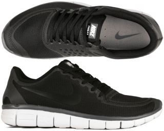 Nike Schuhe Free 5.0 V4 black/white/dark grey schwarz Running 41,42,43