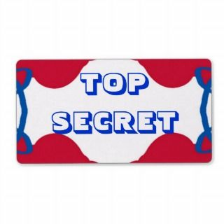 TOP SECRET label