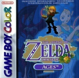 GameBoy Color   The Legend of Zelda   Oracle of Ages (Modul mit Anl