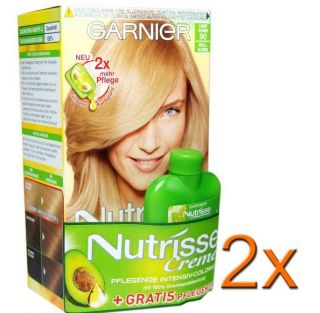 Nutrisse Creme Pflegende Intensive Coloration Hell Blond 90 Haarfarbe