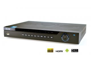 Videoüberwachung 16 Kanal Full HD DVR Rekorder H.264 1080p HDMI