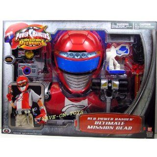 Power Rangers   Operation Overdrive   Red Power Ranger ULTIMATE